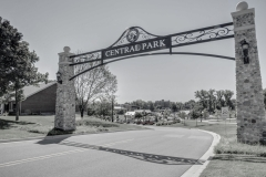 Central Park-1 BW